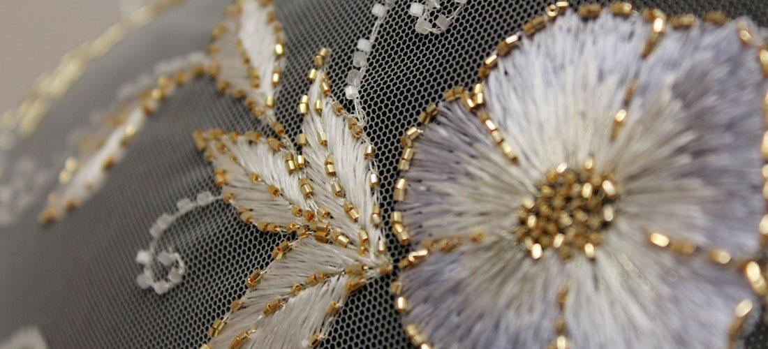 Обучение люневильской вышивке на сетке