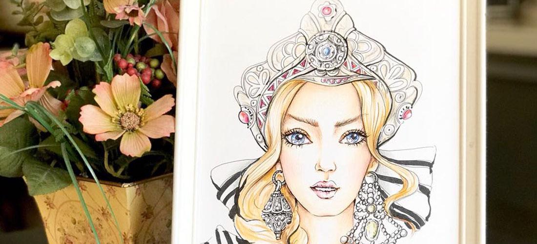 """Новый мастер-класс """"Fashion illustration"""""""