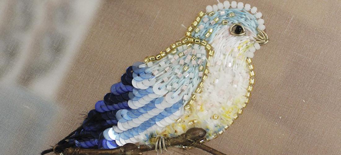 Новая птичка в деталях