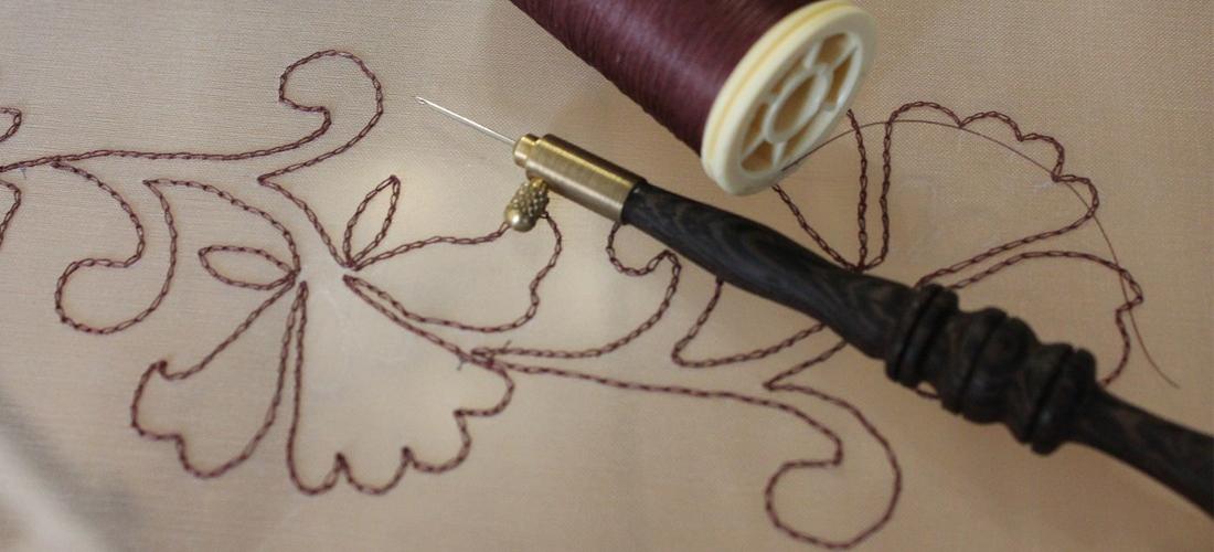 Как выбрать нужный номер люневильского крючка для вышивки