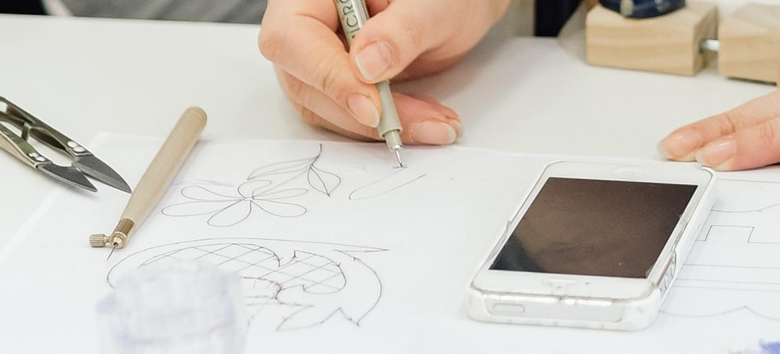 Перенос рисунка на прозрачную ткань