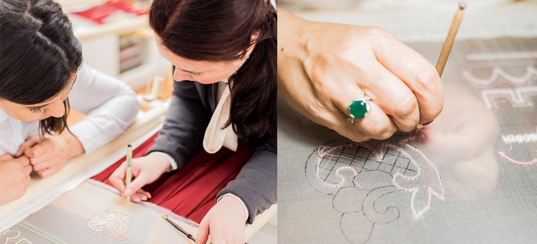 Индивидуальные занятия в студии Школы вышивки