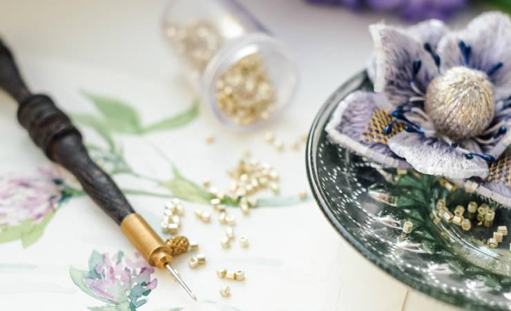 Рабочие дни Академии кутюрной вышивки в Москве: январь