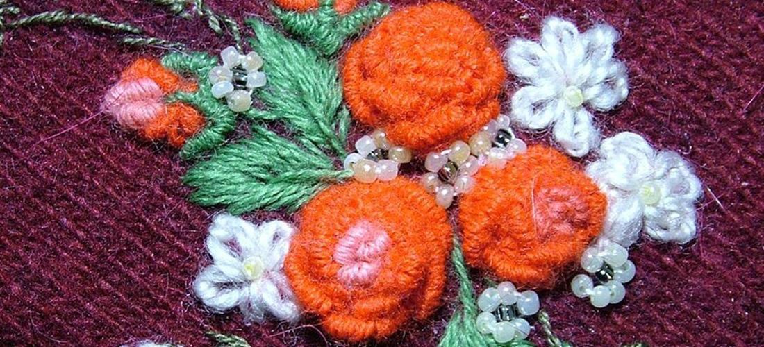 Вышивка рококо: происхождение и особенности