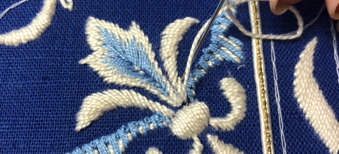Разработка нового курса по интерьерной вышивке