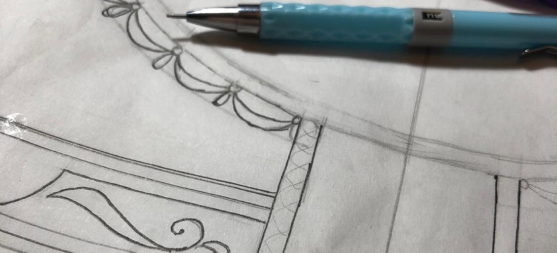 Разработка нового курса по интерьерной вышивке. Шаг1.