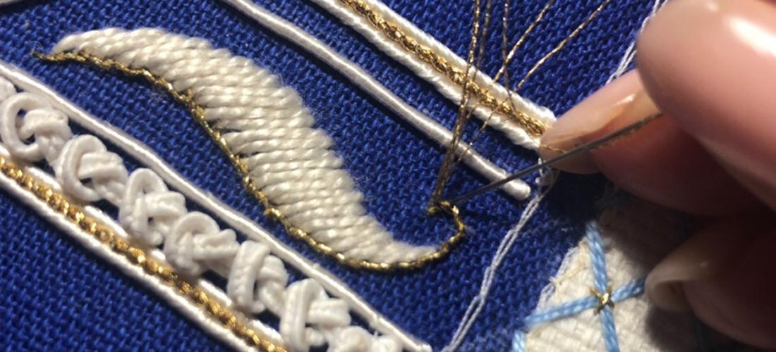 Разработка нового курса по интерьерной вышивке: процесс