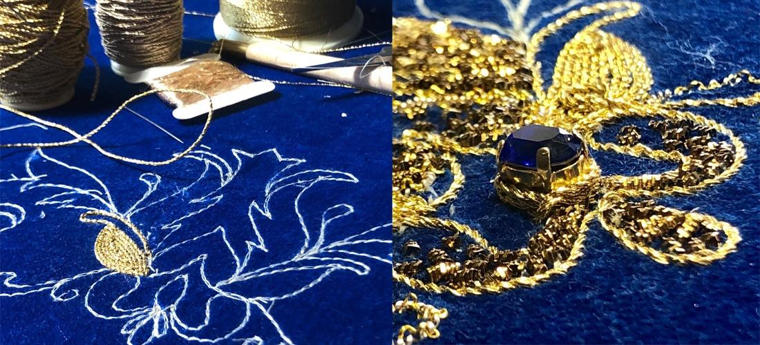 Разработка нового курса по золотному шитью