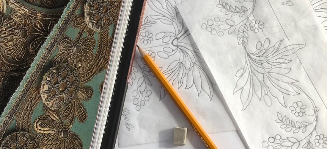 Орнаментальная полоса для вышивки – просто!