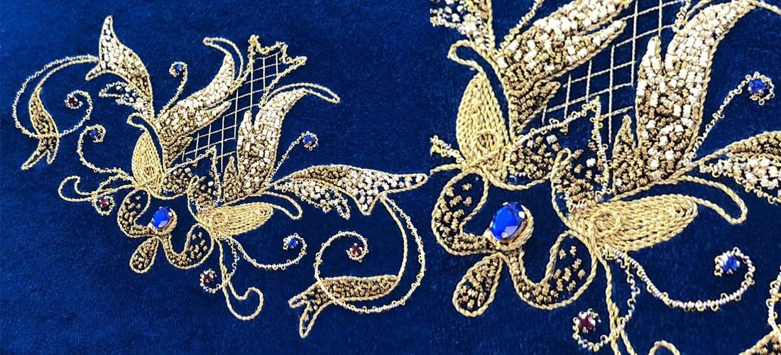 Основы золотного шитья